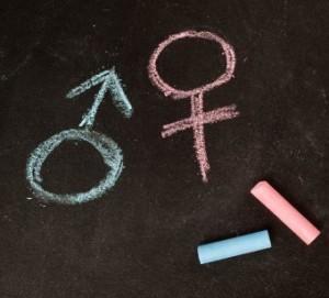 Simbolurile pentru masculin și feminin