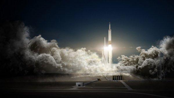 Falcon Heavy și Dragon