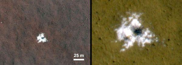 Gheața de pe Marte