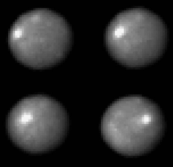 Petele luminoase de pe Ceres observate de Hubble