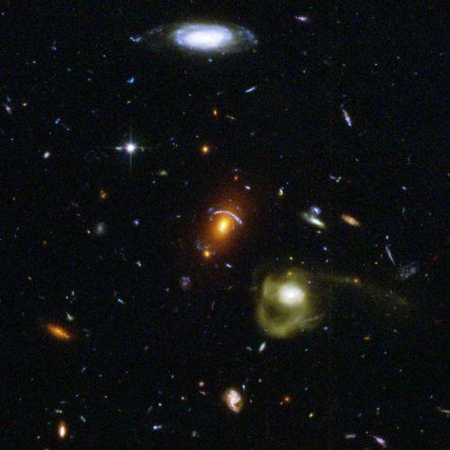 Imagine Hubble Ultra Deep Field