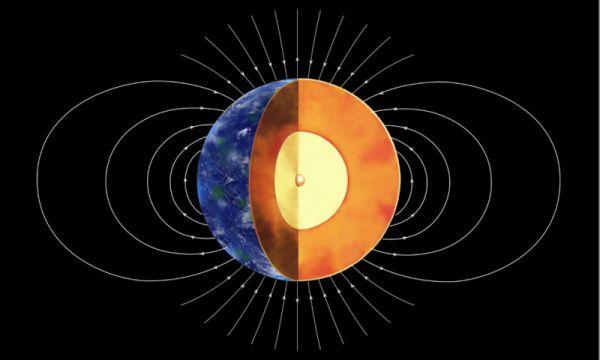 Nucleul interior al Pământului s-a format în urmă cu 1 - 1,5 miliarde de ani