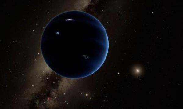 A noua planetă din Sistemul Solar-reprezentare artistică
