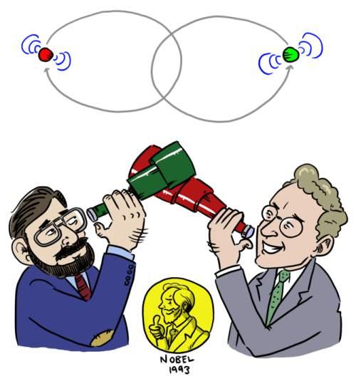 Joseph Taylor și Russell Hulse au primit Premiul Nobel
