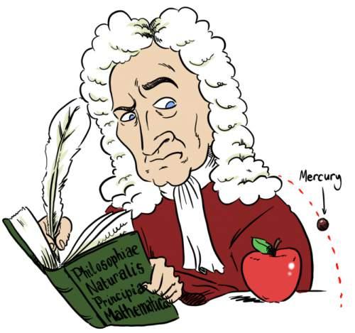 Newton și precesia periheliului planetei Mercur