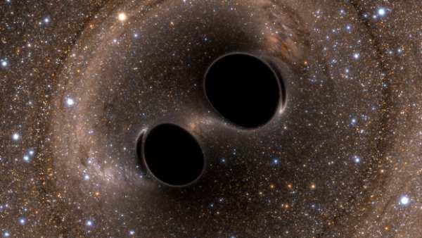 S-au detectat undele gravitationale produse de găurile negre