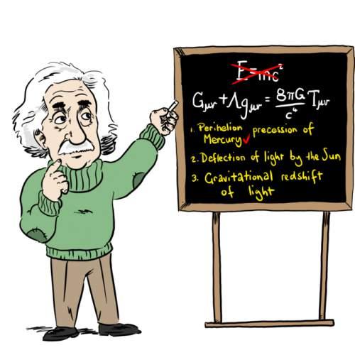 Teoria relativității generale a lui Einstein