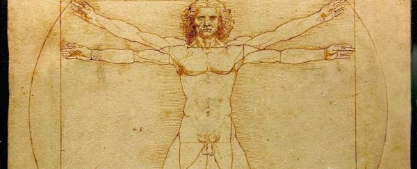 Omul vitruvian al lui Leonardo da Vinci