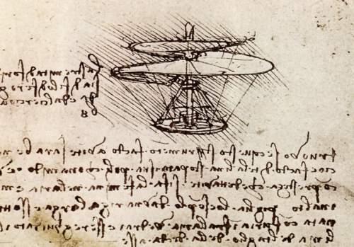 Leonardo da Vinci-Șurubul aerian