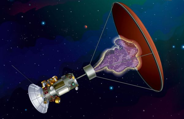 Sondă spațială propulsată de antimaterie