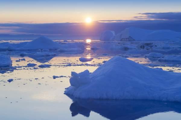 Topirea gheții din Groenlanda