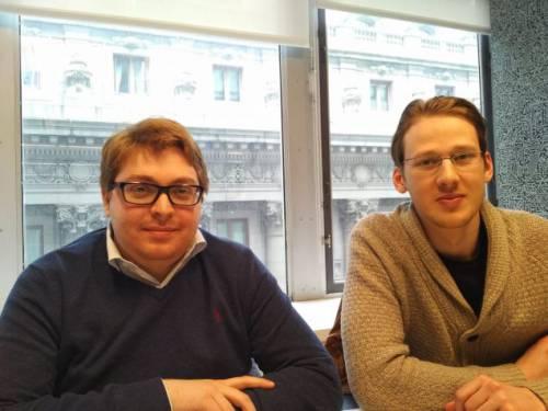 Artem Kukharenko și Alexander Kabakov, cofondatori N-Tech Lab