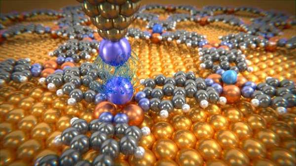 Măsurarea forțelor Van der Waals dintre atomi