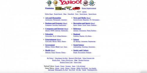Motorul de căutare Yahoo