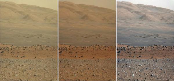 Suprafața planetei Marte