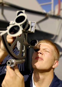 Utilizarea unui sextant