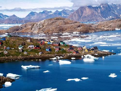 Topirea calotei de gheață din Groenlanda