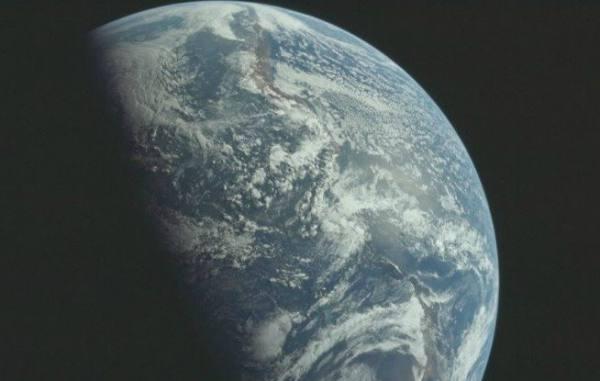Pământul văzut din spațiul cosmic