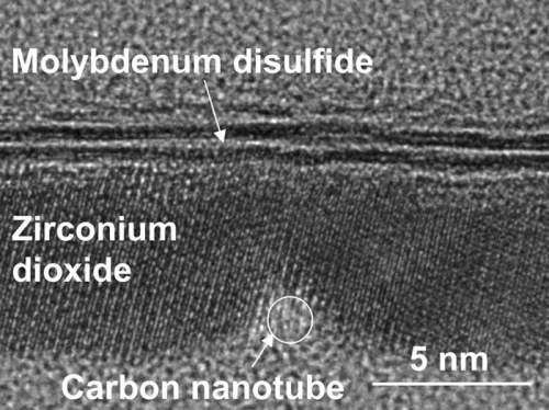 Secțiunea transversală a tranzistorului de 1 nm