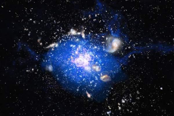 Formarea unui cluster galactic