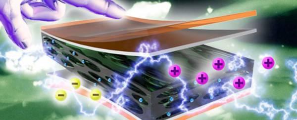 Material ce genereaza electricitate dacă este atins