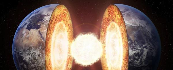 Miezul Pământului este format din fier, nichel și siliciu