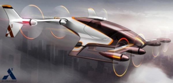 Taxi aerian autonom dezvoltat de Airbus