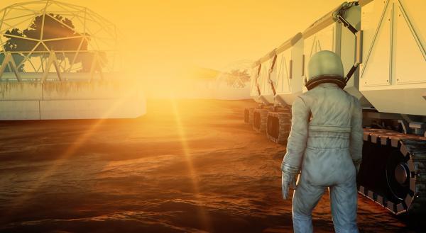 Colonizarea planetei Marte