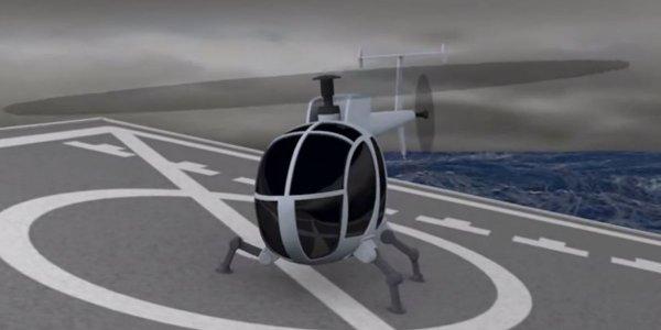 Tren de aterizare robotizat-DARPA