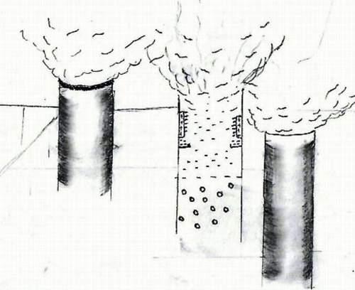 Electricitatea statică reține particulele poluante