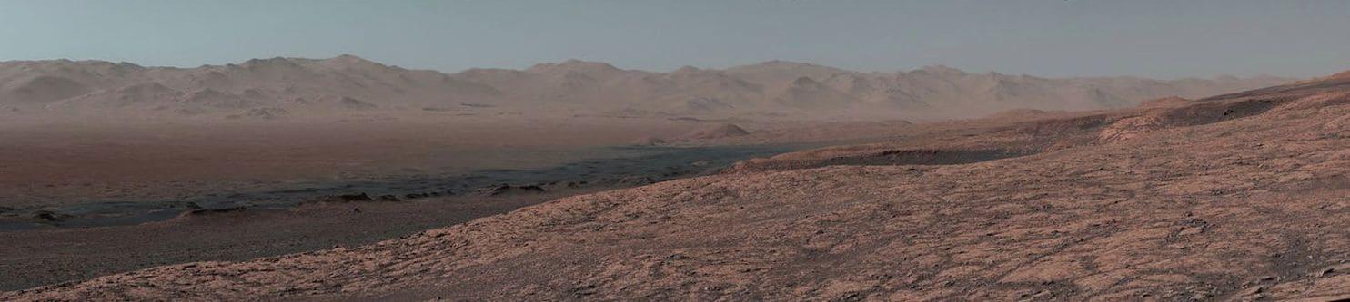 Panoramă de pe Marte