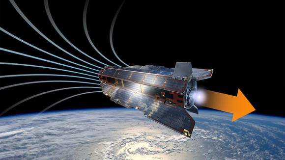 Sateliții ar putea utiliza un propulsor pe bază de aer