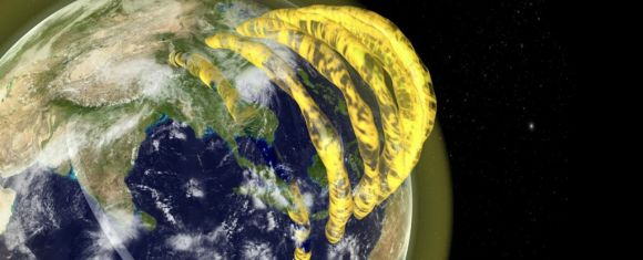 Tuburi uriașe de plasmă deasupra Pământului