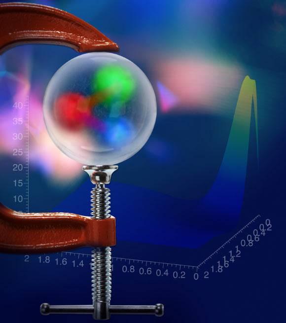 Distribuția presiunii în proton