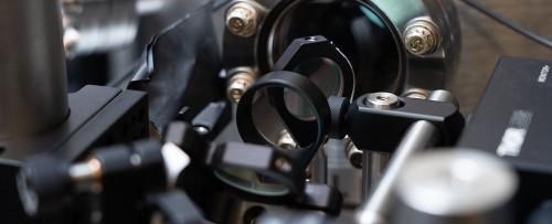 Montajul experimental al rotorului la scară nanometrică