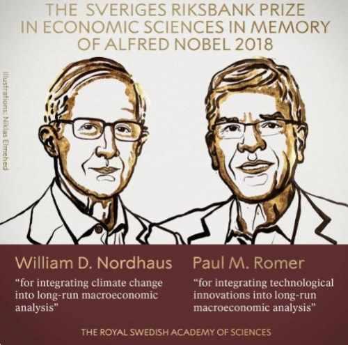 Premiul Nobel pentru Economie 2018