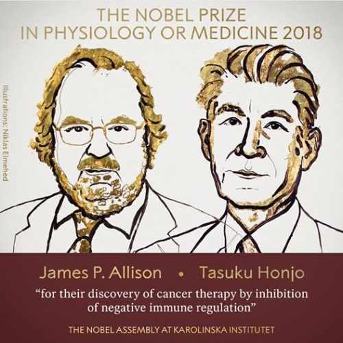 Premiul Nobel pentru Medicină 2018