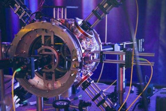Raza tractoare pentru atomi