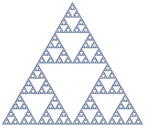 Triunghiul Sierpinski