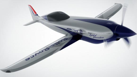 Rolls-Royce construiește cel mai rapid avion electric