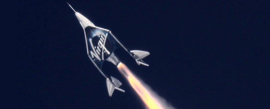 Naveta VSS Unity a companiei Virgin Galactic