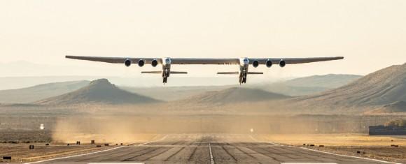 Cel mai mare avion la primul zbor