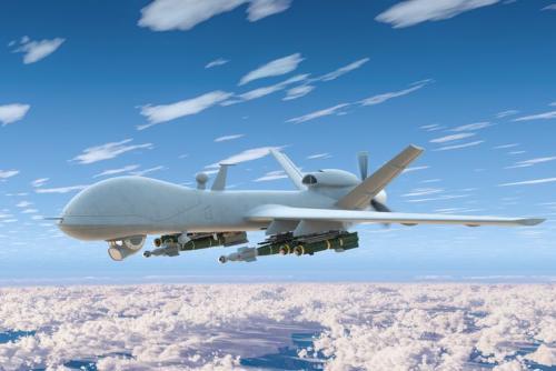 Dronă militară modernă