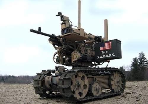 Robotul de luptă SWORD