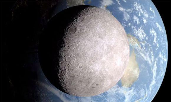 Fața îndepărtată a Lunii