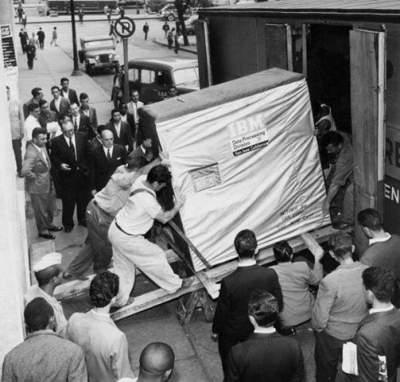 Hard disk IBM de 5 MB