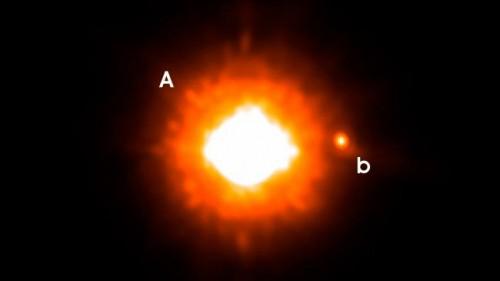 Cea mai mare exoplanetă GQ Lupi b