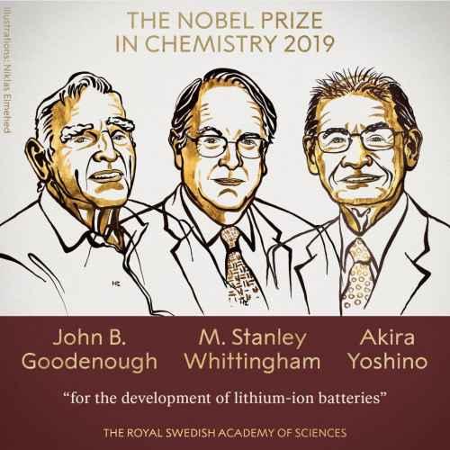 Nobel pentru Chimie 2019