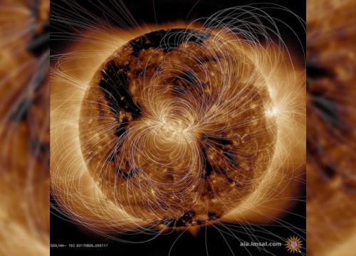 Câmpul magnetic al Soarelui