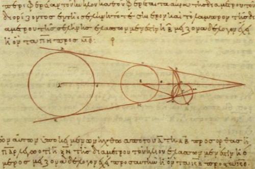 Diagrama de calcul a lui Aristarh